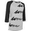 ION Scrub_Amp 3/4 LS Tee Women black
